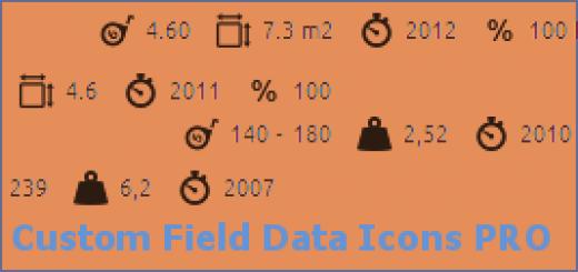 custom-field-data-icons-pro